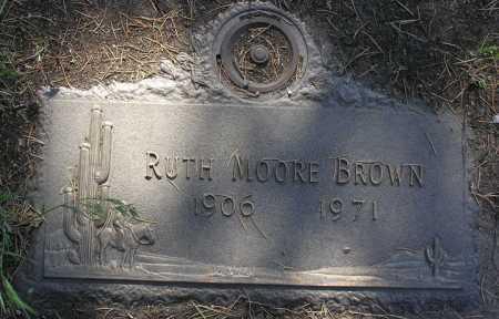 BROWN, RUTH MOORE - Yavapai County, Arizona | RUTH MOORE BROWN - Arizona Gravestone Photos