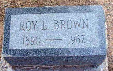 BROWN, ROY LESTER - Yavapai County, Arizona | ROY LESTER BROWN - Arizona Gravestone Photos