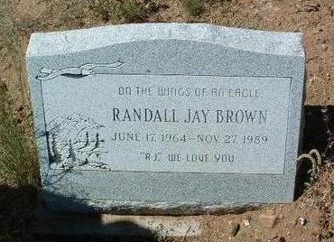 BROWN, RANDALL JAY - Yavapai County, Arizona | RANDALL JAY BROWN - Arizona Gravestone Photos