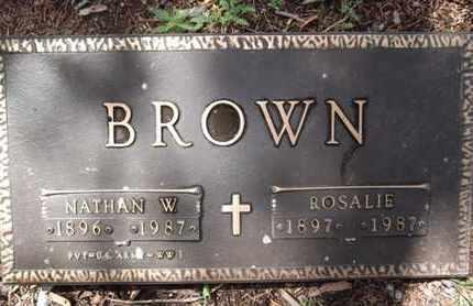 BROWN, ROSALIE - Yavapai County, Arizona   ROSALIE BROWN - Arizona Gravestone Photos
