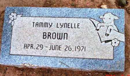 BROWN, TAMMY LYNELLE - Yavapai County, Arizona | TAMMY LYNELLE BROWN - Arizona Gravestone Photos