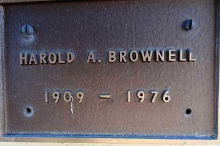 BROWNELL, HAROLD ALBERT - Yavapai County, Arizona | HAROLD ALBERT BROWNELL - Arizona Gravestone Photos
