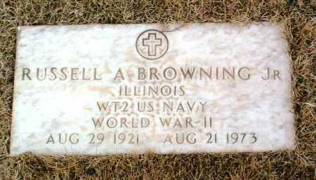 BROWNING, RUSSELL ALFRED - Yavapai County, Arizona | RUSSELL ALFRED BROWNING - Arizona Gravestone Photos