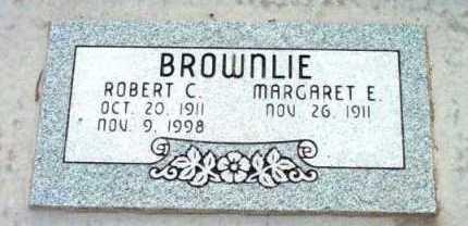 BROWNLIE, MARGARET E. - Yavapai County, Arizona | MARGARET E. BROWNLIE - Arizona Gravestone Photos