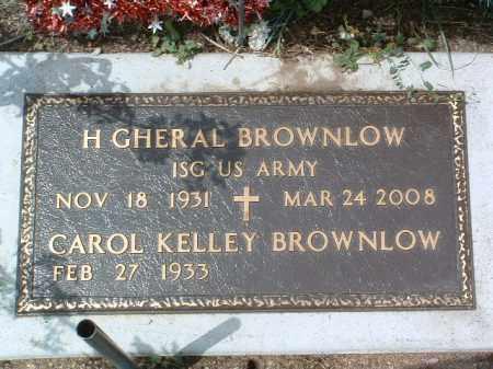 BROWNLOW, H. GHERAL - Yavapai County, Arizona   H. GHERAL BROWNLOW - Arizona Gravestone Photos