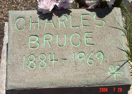 BRUCE, CHARLES EDWARD - Yavapai County, Arizona | CHARLES EDWARD BRUCE - Arizona Gravestone Photos