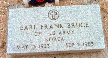 BRUCE, EARL FRANK - Yavapai County, Arizona   EARL FRANK BRUCE - Arizona Gravestone Photos