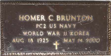 BRUNTON, HOMER C. - Yavapai County, Arizona | HOMER C. BRUNTON - Arizona Gravestone Photos