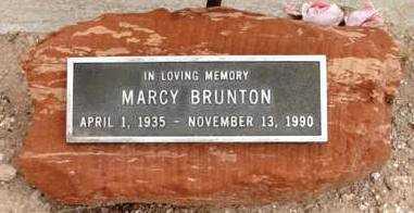 BRUNTON, MARCY - Yavapai County, Arizona | MARCY BRUNTON - Arizona Gravestone Photos