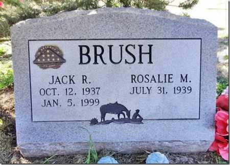 BRUSH, JACK RICHARD - Yavapai County, Arizona | JACK RICHARD BRUSH - Arizona Gravestone Photos