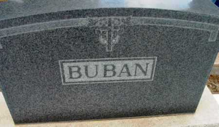 BUBAN, FAMILY HEADSTONE - Yavapai County, Arizona | FAMILY HEADSTONE BUBAN - Arizona Gravestone Photos