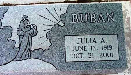 BUBAN, JULIA A. - Yavapai County, Arizona | JULIA A. BUBAN - Arizona Gravestone Photos