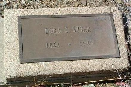 BUBAR, DORA CORDELIA - Yavapai County, Arizona | DORA CORDELIA BUBAR - Arizona Gravestone Photos