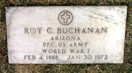 BUCHANAN, ROY CHRISTIAN - Yavapai County, Arizona | ROY CHRISTIAN BUCHANAN - Arizona Gravestone Photos