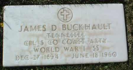 BUCKHAULT, JAMES DEAN - Yavapai County, Arizona | JAMES DEAN BUCKHAULT - Arizona Gravestone Photos