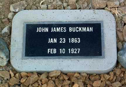 BUCKMAN, JOHN JAMES - Yavapai County, Arizona | JOHN JAMES BUCKMAN - Arizona Gravestone Photos