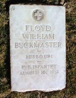 BUCKMASTER, FLOYD WM. - Yavapai County, Arizona   FLOYD WM. BUCKMASTER - Arizona Gravestone Photos