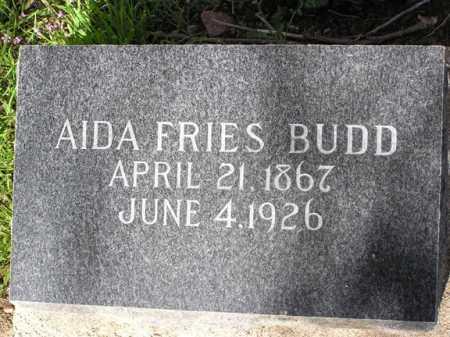 BUDD, AIDA - Yavapai County, Arizona | AIDA BUDD - Arizona Gravestone Photos