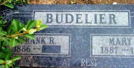 BUDELIER, FRANK RICHARD - Yavapai County, Arizona | FRANK RICHARD BUDELIER - Arizona Gravestone Photos