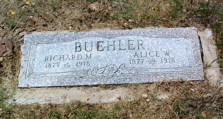 WILLIAMS BUEHLER, ALICE - Yavapai County, Arizona | ALICE WILLIAMS BUEHLER - Arizona Gravestone Photos
