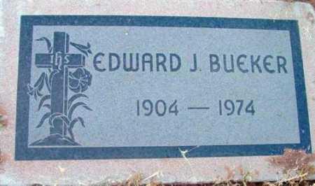 BUEKER, EDWARD J. - Yavapai County, Arizona | EDWARD J. BUEKER - Arizona Gravestone Photos