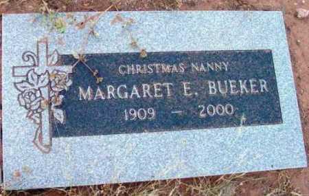 BUEKER, MARGARET E. - Yavapai County, Arizona | MARGARET E. BUEKER - Arizona Gravestone Photos