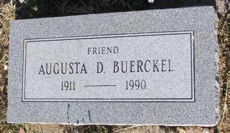 BUERCKEL, AUGUSTA D. - Yavapai County, Arizona | AUGUSTA D. BUERCKEL - Arizona Gravestone Photos
