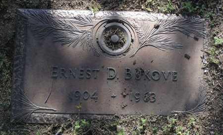 BUKOVE, ERNEST DONALD - Yavapai County, Arizona | ERNEST DONALD BUKOVE - Arizona Gravestone Photos