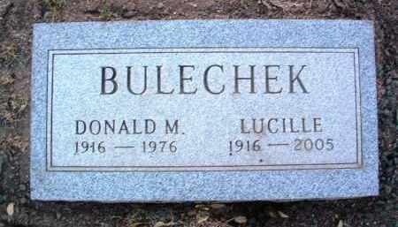 BULECHEK, DONALD MILLER - Yavapai County, Arizona   DONALD MILLER BULECHEK - Arizona Gravestone Photos