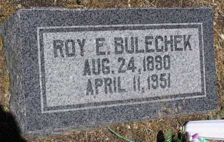 BULECHEK, ROY EARL - Yavapai County, Arizona | ROY EARL BULECHEK - Arizona Gravestone Photos