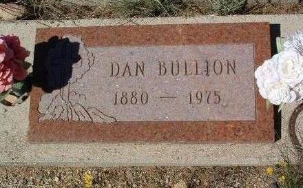 BULLION, DANIEL (DAN) - Yavapai County, Arizona   DANIEL (DAN) BULLION - Arizona Gravestone Photos