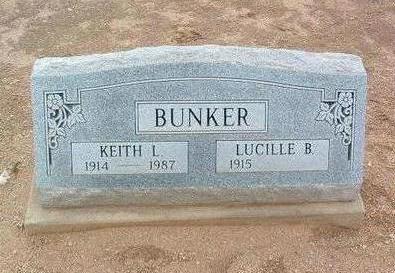 BUNKER, KEITH LEROY, SR. - Yavapai County, Arizona   KEITH LEROY, SR. BUNKER - Arizona Gravestone Photos