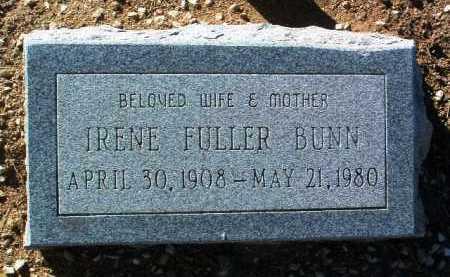 BUNN, IRENE - Yavapai County, Arizona | IRENE BUNN - Arizona Gravestone Photos