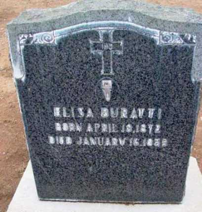 BURATTI, ELISA - Yavapai County, Arizona | ELISA BURATTI - Arizona Gravestone Photos