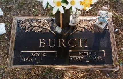 SHAFER BURCH, BETTY JUNE - Yavapai County, Arizona | BETTY JUNE SHAFER BURCH - Arizona Gravestone Photos