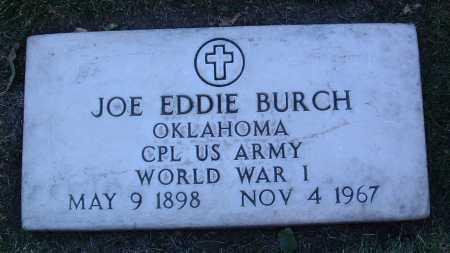 BURCH, JOE EDDIE - Yavapai County, Arizona | JOE EDDIE BURCH - Arizona Gravestone Photos
