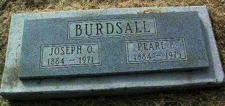 BURDSALL, JOSEPH O. - Yavapai County, Arizona | JOSEPH O. BURDSALL - Arizona Gravestone Photos