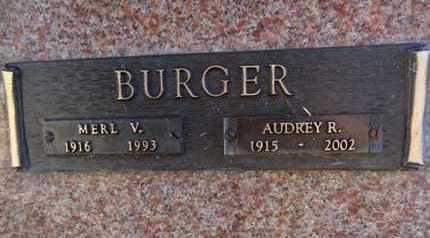 BURGER, AUDREY ROSE - Yavapai County, Arizona | AUDREY ROSE BURGER - Arizona Gravestone Photos