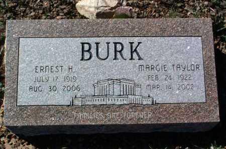 BURK, ERNEST HERBERT - Yavapai County, Arizona | ERNEST HERBERT BURK - Arizona Gravestone Photos
