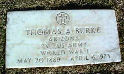 BURKE, THOMAS ANTHONY - Yavapai County, Arizona | THOMAS ANTHONY BURKE - Arizona Gravestone Photos