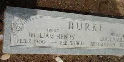 BURKE, WILLIAM HENRY - Yavapai County, Arizona | WILLIAM HENRY BURKE - Arizona Gravestone Photos