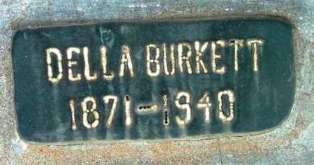 BURKETT, CORA DELLA - Yavapai County, Arizona | CORA DELLA BURKETT - Arizona Gravestone Photos