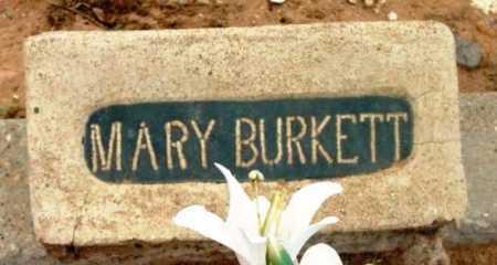 BURKETT, MARY ANN - Yavapai County, Arizona | MARY ANN BURKETT - Arizona Gravestone Photos