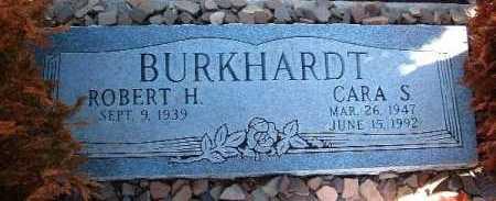 BURKHARDT, CARA S. - Yavapai County, Arizona   CARA S. BURKHARDT - Arizona Gravestone Photos