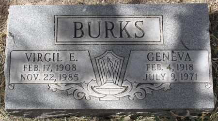 BURKS, VIRGIL E. - Yavapai County, Arizona | VIRGIL E. BURKS - Arizona Gravestone Photos