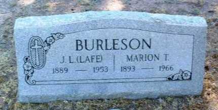 BURLESON, JOSEPH LAFAYETTE - Yavapai County, Arizona | JOSEPH LAFAYETTE BURLESON - Arizona Gravestone Photos