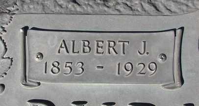 BURMISTER, ALBERT J. - Yavapai County, Arizona   ALBERT J. BURMISTER - Arizona Gravestone Photos