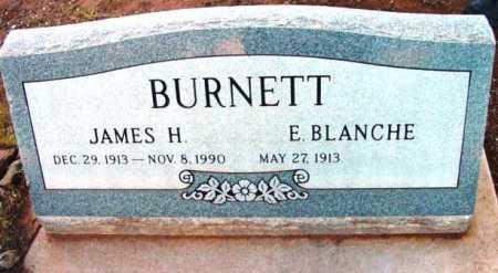 BURNETT, E. BLANCHE - Yavapai County, Arizona   E. BLANCHE BURNETT - Arizona Gravestone Photos