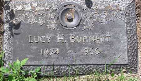 BURNETT, LUCY H. - Yavapai County, Arizona | LUCY H. BURNETT - Arizona Gravestone Photos