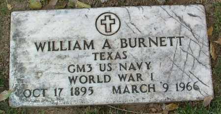 BURNETT, WILLIAM A. - Yavapai County, Arizona | WILLIAM A. BURNETT - Arizona Gravestone Photos